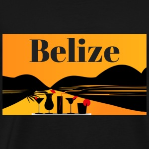 Belize - Premium T-skjorte for menn