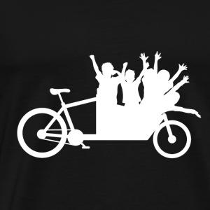 Cargo bike crew car white