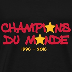 Champion du monde 1998 - 2018 CDM red