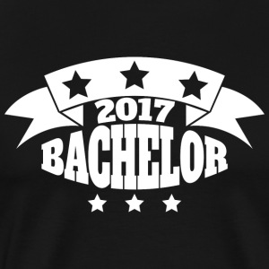 Bachelor 2017 - Premium T-skjorte for menn