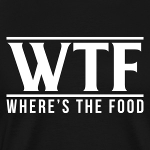 WTF - The Food Hvor er - Herre premium T-shirt