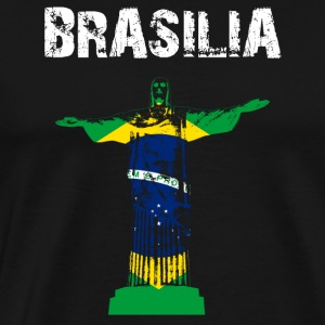 design Nation Brasilia Cristo - T-shirt Premium Homme