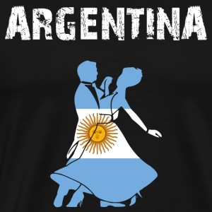 Nation-Design Argentina Tango - Männer Premium T-Shirt