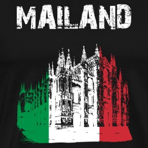 City Design Milan Cathedral GER - Premium T-skjorte for menn