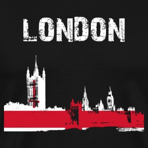 Stad Design London Westminster - Mannen Premium T-shirt