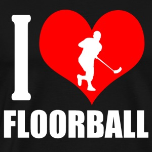 Floorball - Herre premium T-shirt
