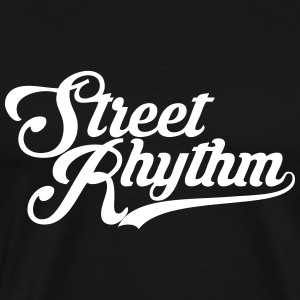 StreetRhythm white - Men's Premium T-Shirt