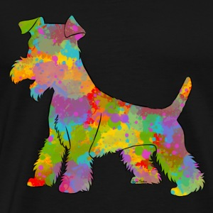Welsh Terrier Multicolor - Männer Premium T-Shirt