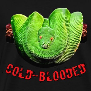 Snake cold-blooded II - Men's Premium T-Shirt