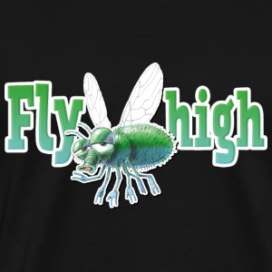 shirt motif fly party fly high new