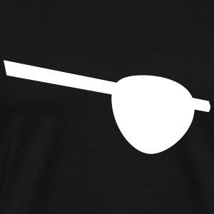 Eyepatch for pirates - Men's Premium T-Shirt