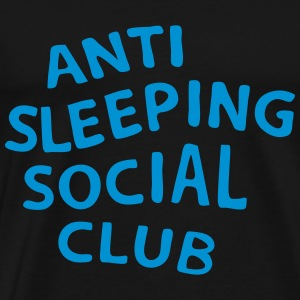 Anti Sleeping Social Club - Men's Premium T-Shirt