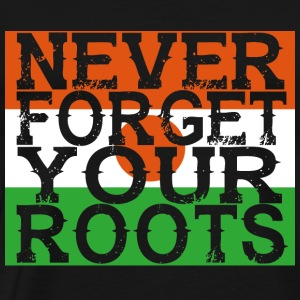 never forget roots home Niger - Men's Premium T-Shirt