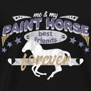 Paint Horse Horse best friends forever - Men's Premium T-Shirt