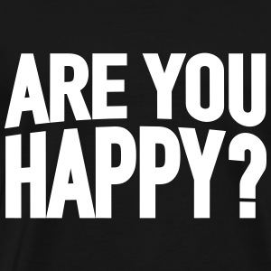Are you happy? - Men's Premium T-Shirt
