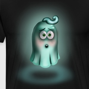 Little Turquoise Ghost - Mannen Premium T-shirt