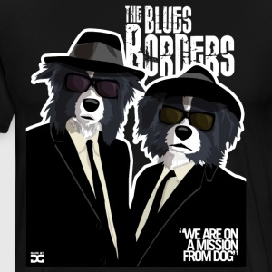 The Blues Borders - Men's Premium T-Shirt