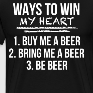 Ways to win my heart - Men's Premium T-Shirt