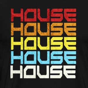 House Music Old School Retro Style Gift Idea
