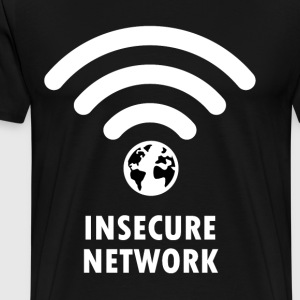 Insecure Network - Men's Premium T-Shirt