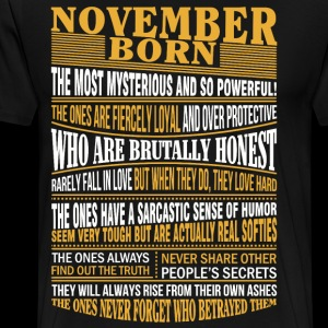 November born the most mysterious and so powerful
