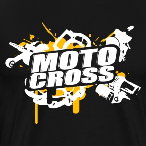 Cross Supermoto Enduro Vol.I o / w - Premium-T-shirt herr