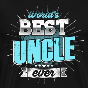 World bäst Uncle - Premium-T-shirt herr