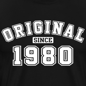 Original Since 1980 Vintage Birthday Birthday - Men's Premium T-Shirt