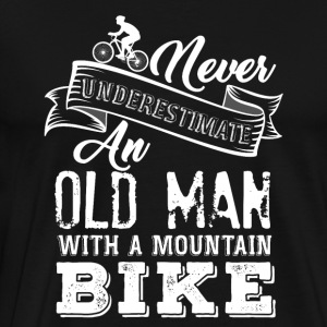 Old Man Mountain - Herre premium T-shirt