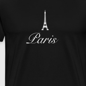 Paris Mode Design Eiffelturm Fashion france liebe - Männer Premium T-Shirt