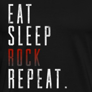 Eat Sleep Rock Repeat Rock Music Gift Idea