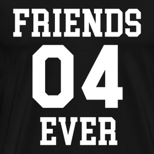 FRIENDS EVER 04 - Herre premium T-shirt