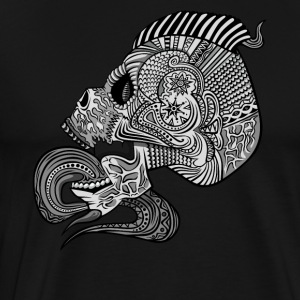 Fancy Skull Pattern Inside Punk - Men's Premium T-Shirt