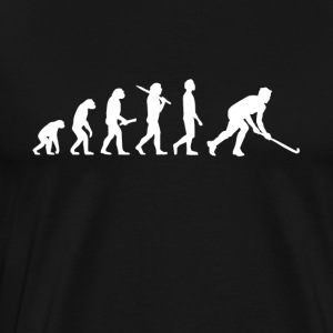 Hockey evolution - Premium-T-shirt herr