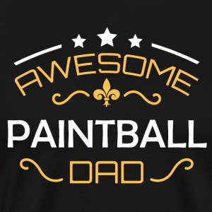 Paintball pappa - Premium-T-shirt herr