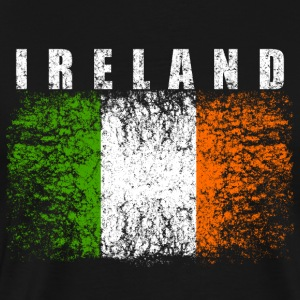 Ireland Flag 008 AllroundDesigns - Men's Premium T-Shirt