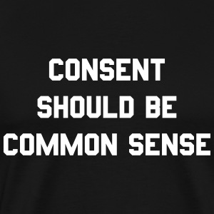 consent should be common sense