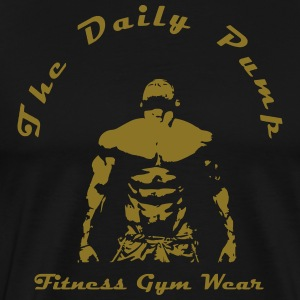 The Daily Pump - Premium-T-shirt herr