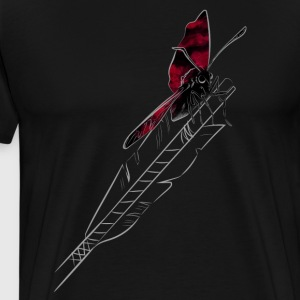 Arrow Butterfly - Männer Premium T-Shirt