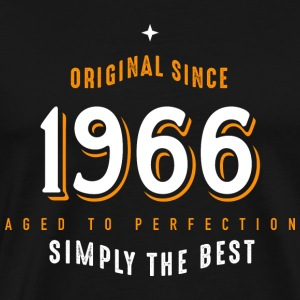 original since 1966 simply the best 50. Geburtstag - Männer Premium T-Shirt