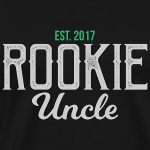 New Uncle Rookie Uncle gift - onkel - Männer Premium T-Shirt