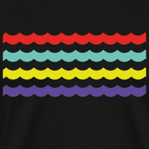 Colour Waves - Men's Premium T-Shirt