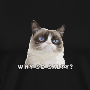 CATS | WHY SO SALTY? - Men's Premium T-Shirt