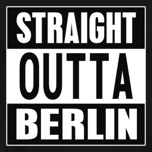 Straight outta Berlin - Premium T-skjorte for menn