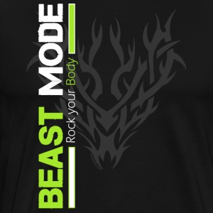 Beast Mode Tribal - Männer Premium T-Shirt