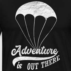 Adventure is daar - Mannen Premium T-shirt