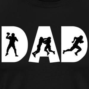 Football Dad - Mannen Premium T-shirt