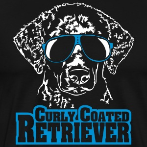 CURLY COATED RETRIEVER cool - Männer Premium T-Shirt