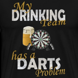 My drinking team has a darts problem