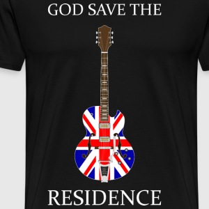 Britrock Guitar Black - Men's Premium T-Shirt